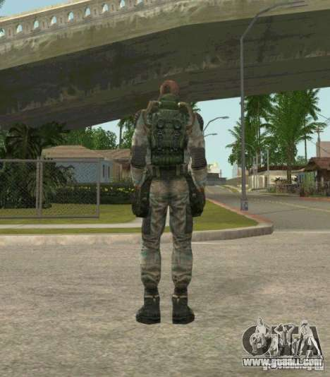 Lebedev of S.T.A.L.K.E.R. clear sky for GTA San Andreas third screenshot