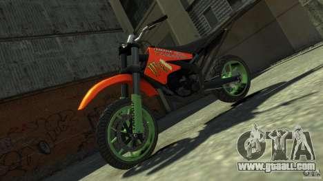 Stunt Supermotard Sanchez for GTA 4 right view