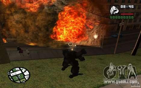 Exoskeleton for GTA San Andreas seventh screenshot
