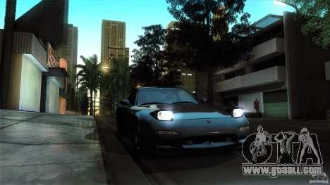 Mazda RX-7 FD 1991 for GTA San Andreas back view