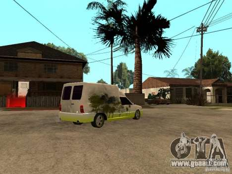 Fiat Fiorino for GTA San Andreas right view