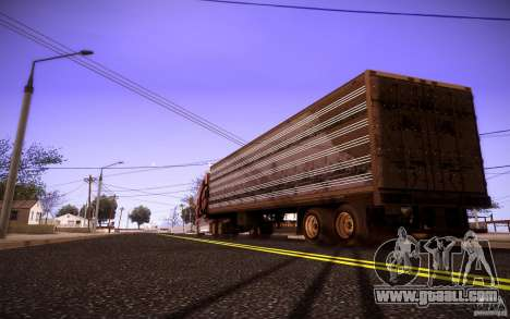 Box Trailer for GTA San Andreas