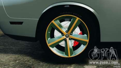 Dodge Challenger SRT8 2009 [EPM] for GTA 4 interior
