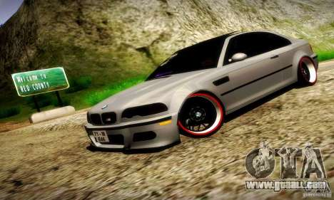 BMW M3 JDM Tuning for GTA San Andreas side view