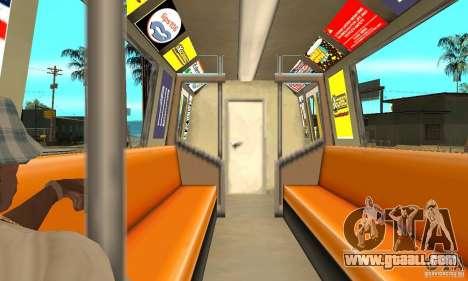 Liberty City Train Italian for GTA San Andreas right view