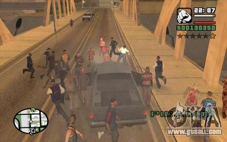 Resident Evil Dead Aim for GTA San Andreas