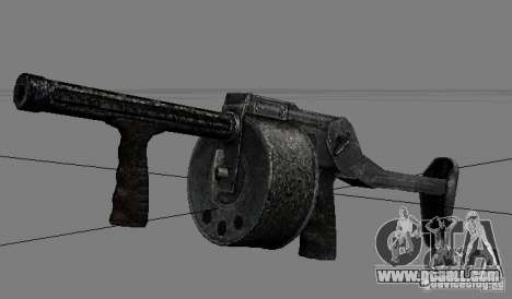 A set of weapons from stalker V2 for GTA San Andreas sixth screenshot