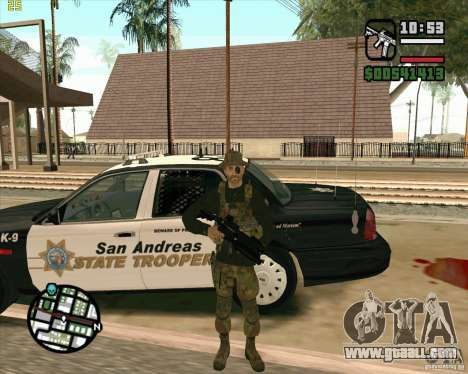 Skin Praice from COD 4 for GTA San Andreas forth screenshot