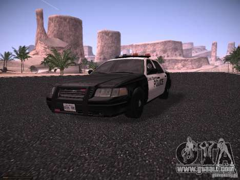 Ford Crown Victoria Police 2003 for GTA San Andreas