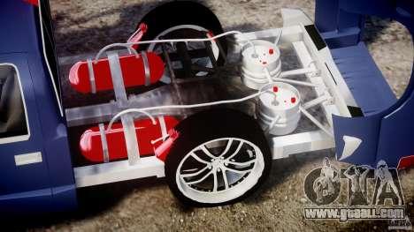 Chevrolet S10 1996 Draggin [Beta] for GTA 4 right view
