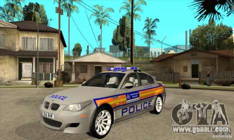 Metropolitan Police BMW 5 Series Saloon for GTA San Andreas
