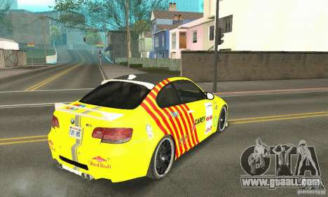 BMW M3 2008 Hamann v1.2 for GTA San Andreas engine