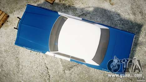 Dodge Monaco 1974 (bluesmobile) for GTA 4 right view