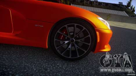 Dodge Viper GTS 2013 v1.0 for GTA 4 right view