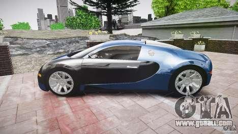 Bugatti Veyron 16.4 v3.0 2005 [EPM] Strasbourg for GTA 4 inner view