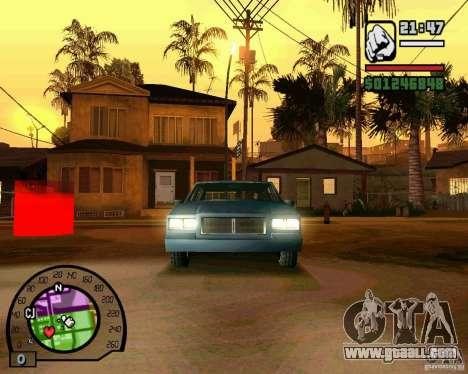 IV High Quality Lights Mod v2.2 for GTA San Andreas third screenshot