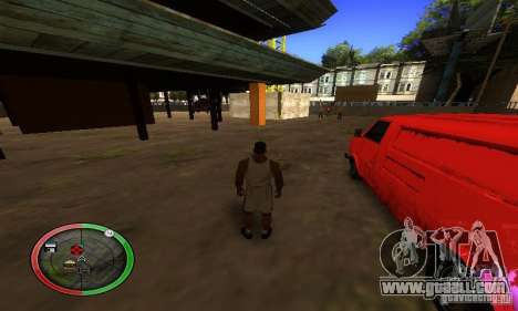 NEW STREET SF MOD for GTA San Andreas seventh screenshot