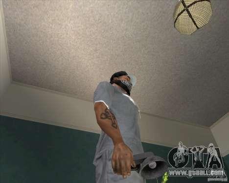 Pak weapons of Fallout New Vegas for GTA San Andreas eighth screenshot