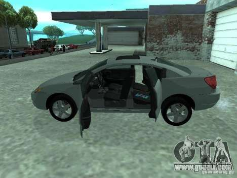 Saturn Ion Quad Coupe 2004 for GTA San Andreas inner view