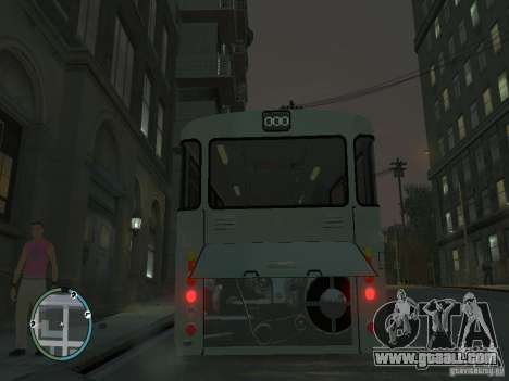 Mercedes-Benz O305 for GTA 4 back view
