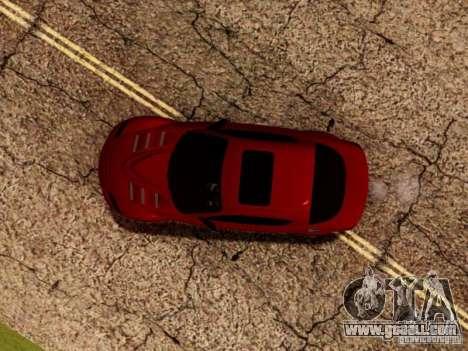 Mazda RX8 Reventon for GTA San Andreas interior