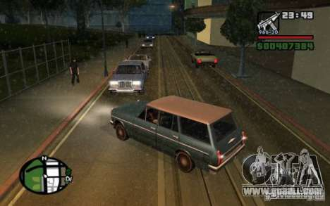 Universal rear lights for GTA San Andreas second screenshot