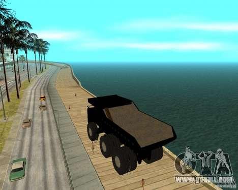 Dumper for GTA San Andreas left view