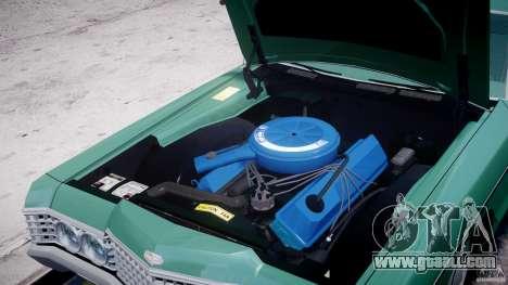 Mercury Monterey 2DR 1972 for GTA 4 inner view
