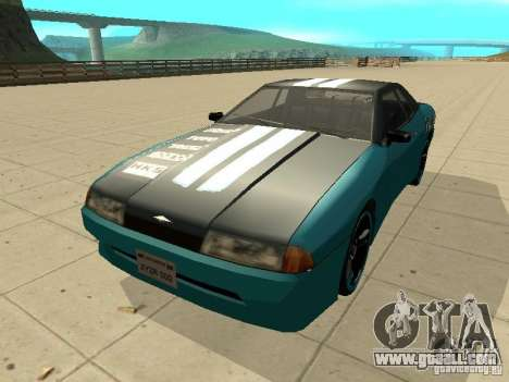 Elegy Forsage for GTA San Andreas left view