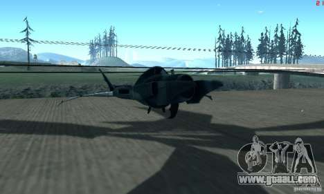 BatWing for GTA San Andreas left view