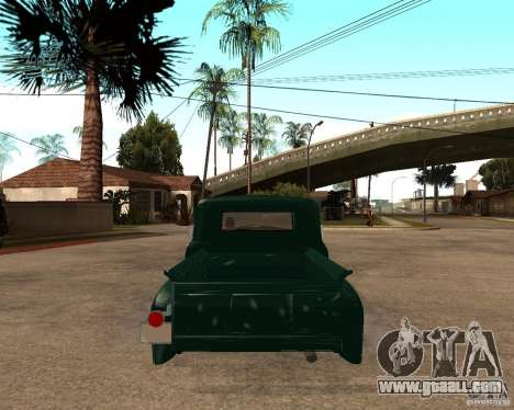 ZIL 130 Fiery Tempe v1.0 for GTA San Andreas left view