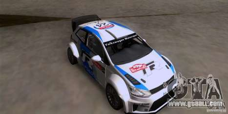 Volkswagen Polo WRC for GTA San Andreas