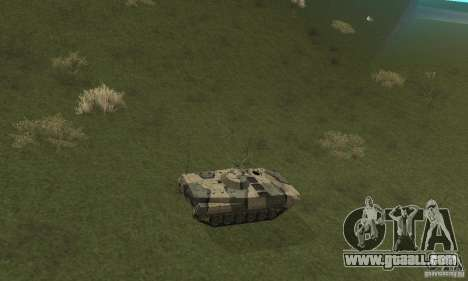 Bmp-1 Camo for GTA San Andreas back view