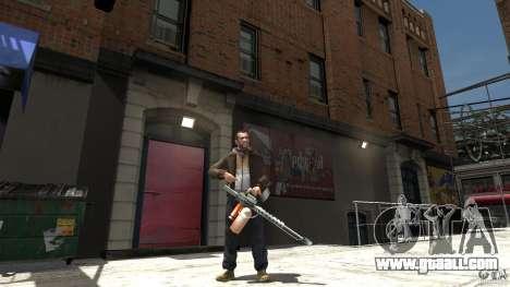 Flamethrower for GTA 4 third screenshot