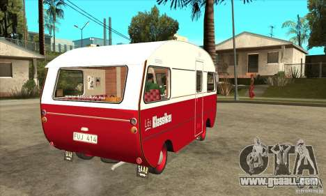 Saab 92HK Motorhome 1965 for GTA San Andreas right view