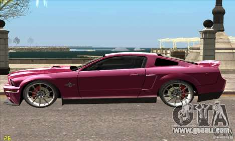 Ford Shelby GT500KR Super Snake for GTA San Andreas left view