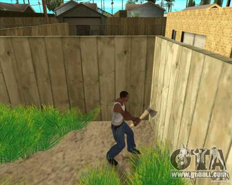 Weapons of call of duty for GTA San Andreas sixth screenshot