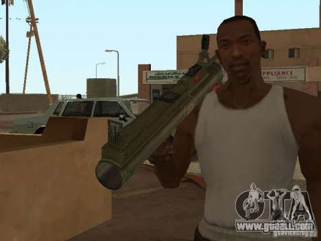 LAW Rocket launcher for GTA San Andreas