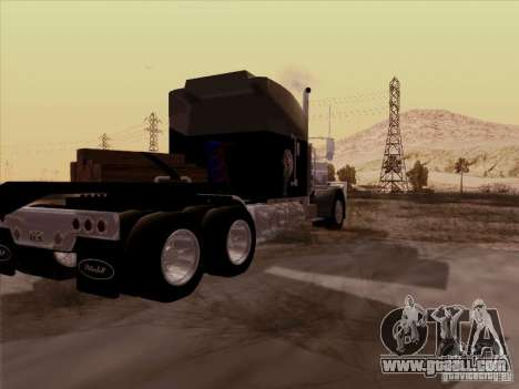 Peterbilt 378 Custom for GTA San Andreas back left view