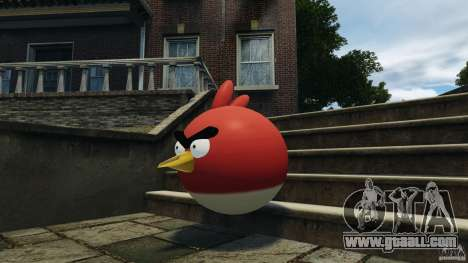 Angry Bird Ped for GTA 4 third screenshot