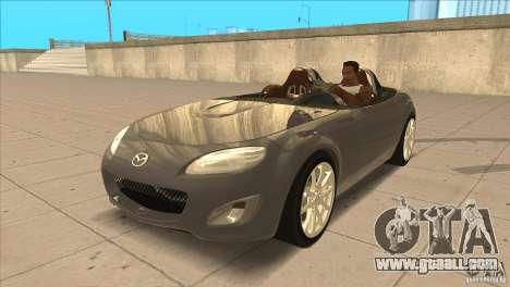 Mazda MX5 Miata Superlight 2009 V1.0 for GTA San Andreas