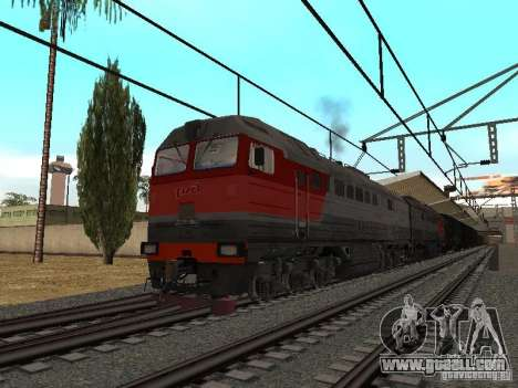 RAILWAY mod IV final for GTA San Andreas second screenshot