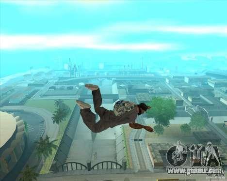 Parachute Rockstar (camouflage) for GTA San Andreas third screenshot