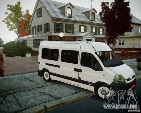 Renault Master for GTA 4 right view