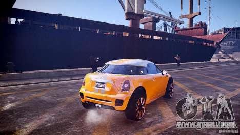 Mini Coupe Concept v0.5 for GTA 4 right view
