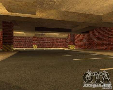 New garage police LSPD for GTA San Andreas third screenshot