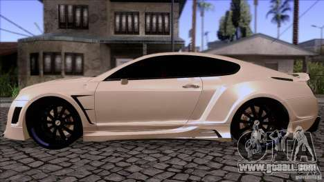 Bentley Continental GT Premier 2008 V2.0 for GTA San Andreas right view