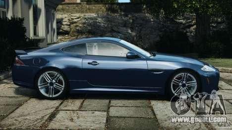 Jaguar XKR-S Trinity Edition 2012 v1.1 for GTA 4 left view