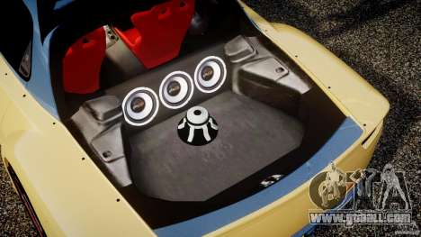 Mazda RX-7 Veilside v0.8 for GTA 4 bottom view