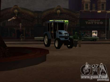 Tractor МТЗ 922 for GTA San Andreas left view